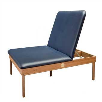 DYNATRONICS Premium Oak Mat Table w/ Liftback-Black
