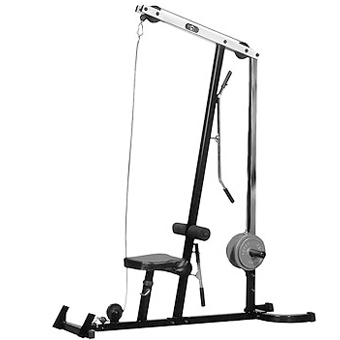 Yukon Fitness Lat Pulldown Exercise Machine - Black at Sears.com